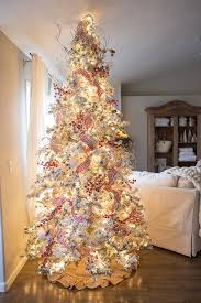 beautiful christmas tree. Interesting Christmas How To Put Ribbon On A Christmas Tree Throughout Beautiful F