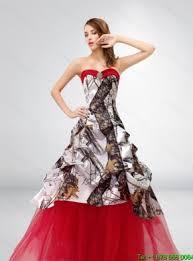 a line strapless exquisite 2015 spring camo wedding dresses