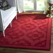 area rugs by red wool rug 4 x 6 round martha stewart custom bound