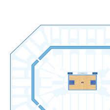 Target Center Interactive Basketball Seating Chart