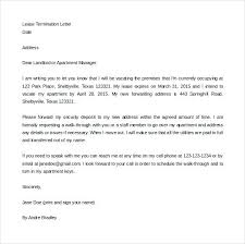 Rental Lease Letters Rental Lease Termination Letter Digiart