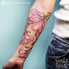 значения тату с цветами для девушек эскизы 130 фото