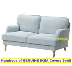 ikea stocksund 3 seat sofa cover set in