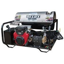 Delux Rk40 5030 Series Gas Powered Hot Water Pressure Washer