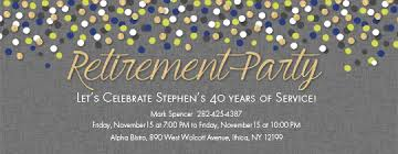 Making Party Invitations Online For Free Free Retirement And Farewell Party Invitations Evite Com