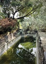 vizcaya s marine garden is one of the villa s features that