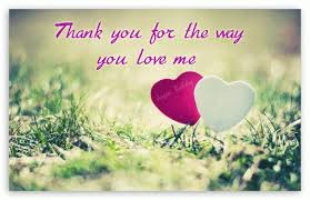 Thank You For Loving Me Quotes Best Thank You Images Love Siewallsco