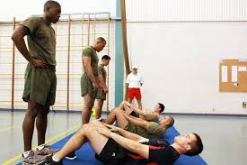 Marine Fitness Chart Marine Corps Physical Fitness Test Pft Military Com