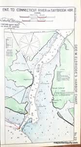 Thames River Ct Depth Chart Antique Maps And Charts Original Vintage Rare Historical