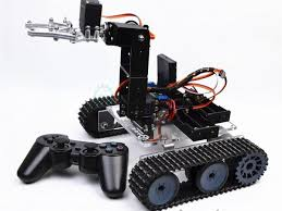 RC Arduino tank with <b>4dof</b> robto <b>arm</b> PS2 control - Arduino Project Hub