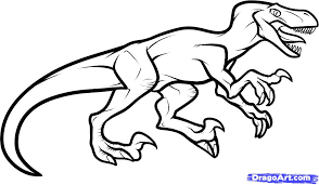 Small Picture httpimgsstepsdragoartcomhow to draw a velociraptor dinosaur