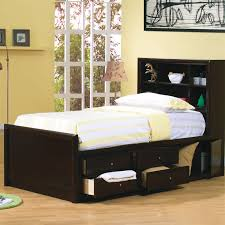 twin bed with storage and bookcase headboard. Delighful Storage Storage Bed With Bookcase Headboard Ideas With Twin And G