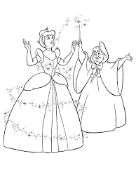 Small Picture Cinderella Coloring Pages Coloring Home