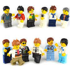 Bộ Đồ Chơi Lego Xếp Hình Cảnh Sát / Lính Cứu Hỏa Cho Bé 1-9 Tuổi giá cạnh  tranh