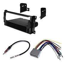 amazon com jeep 2005 2007 grand cherokee car stereo dash install 2004 grand cherokee wiring harness at 2005 Grand Cherokee Wiring Harness