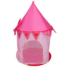 costway kids baby play tent house princess castle in outdoor portable foldable gift 3