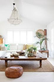 and have a big coffee table make a small home garden in your living room pair small flowers pots with green plantatch them with candles and boho