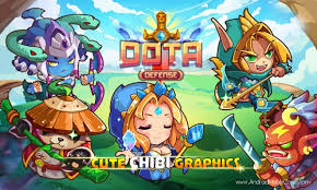 heroes dota defense mod apk 1 7 mod money android game