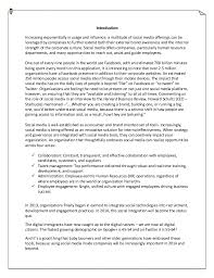 Hr Report Beauteous Report On Social Media And Hr