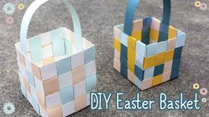 Square Paper How To Make An Easter Basket