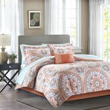 bed in a bag bed in a bag king fresh mainstays aqua medallion bed in