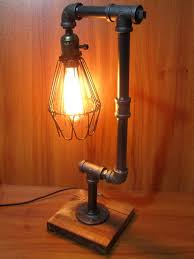 industrial look lighting. 12 Photos Gallery Of: Black Industrial Table Lamp For A Different Look Lighting