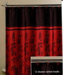 asian shower curtain hooks