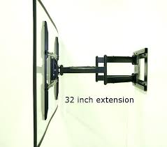 swing arm tv mount wall mount extendable arm swing arm wall mount for most to swing