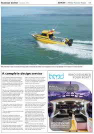 Boat Design Ideas Business Central October 2016 By Waterford Press Limited