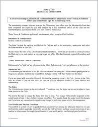 Club Membership Form Template Membership Agreement Form Template Basilicoitalianrestaurant