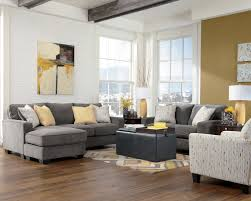 decorating with gray furniture. Living Room, Gray Couch Decorating Ideas Furry Green Pillow Simple Black Porcelain Vase Smooth Stone With Furniture