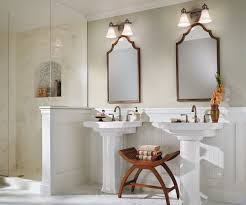 Bathroom Lighting Inspiration  Lando Galleries Kichler Sheila Bathroom Light Fixtures