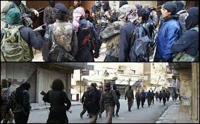 isis fighters inside yarmouk camp isis main office98 main