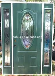 sweet idea oval glass door insert front inserts leaded 3 4 exterior replacement decorative