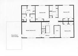 4 bedroom floor plans. Efficient 4 Bedroom Floor Plan. Distinctive Master And Bath On The Second Floor. Plans :