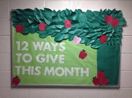 ra bulletin boards resident assistant the giving tree themed bulletin board