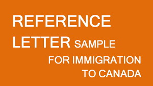 Immigration Reference Letter Samples For My Husband A Couple Canada