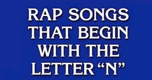letter n rap songs