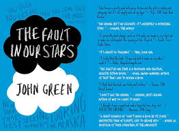 the fault in our stars book cover book cover design