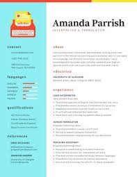 Colorful Resume Template Free Download Also Customize Colorful ...