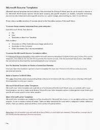 Cover Letter Template Microsoft Word Magnificent Resume Template Microsoft Word Download Best Resume Templates