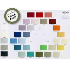 Annie Sloan Chalk Paint Color Chart Chalk Paint Color Card