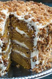 great pumpkin crunch cake with cream cheese frosting the perfect dessert recipe for your holiday thanksgiving table
