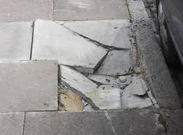 identifying causes solutions for sinking damaged concrete outside your home