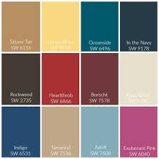 Sherwin Williams Color Chart 2018 Playroom Makeover Using Sherwin Williams 2018 Color Of The