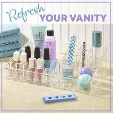 stori makeup organizers will transform your vanity organize your vanity and keep your counter clean