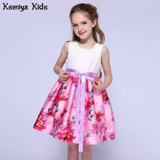 Kids Designer Us 15 75 30 Off Kseniya Kids Designer Summer White And Pink Girls Dresses For Party And Wedding Children Clothes Baby Girl Dress 2 To 12 Years In