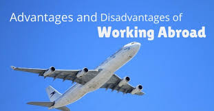 top advantages and disadvantages of working abroad wisestep working abroad advantages disadvantages