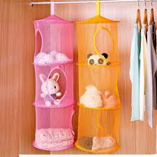 20+ Creative DIY Ways to Organize and Store Stuffed Animal Toys --> Hanging