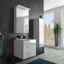 Bad Möbel Set Mit Unterschrank Waschbecken Spiegel Und